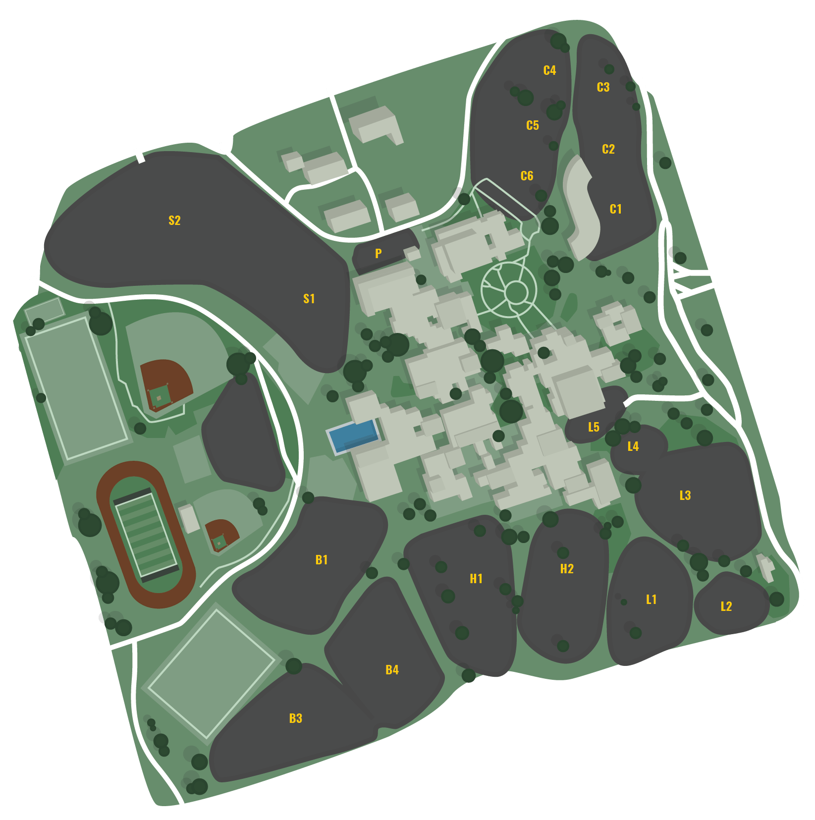 Stockton Campus Map & Directions | San Joaquin Delta College