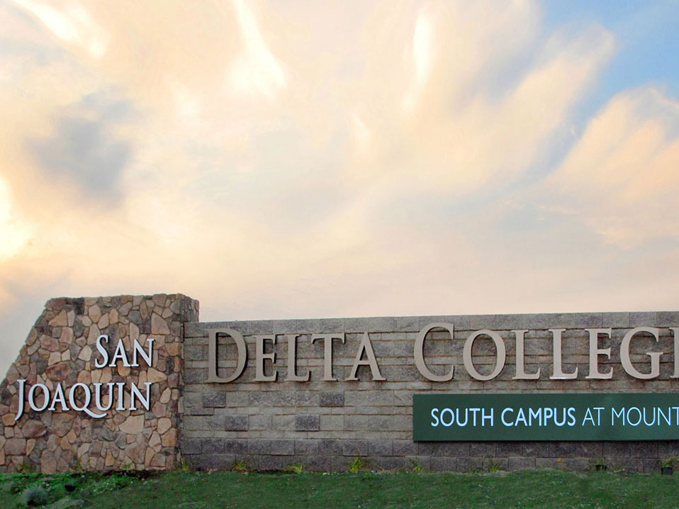 Front sign of South Campus at Mountain House