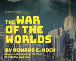 War of the Worlds, an online production by Delta Drama, runs Dec. 4-6