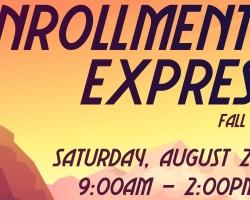 Enrollment Express returns (virtually) Aug. 21