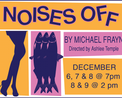 """San Joaquin Delta College drama students present """"Noises Off,"""" a comedy about a comedy."""