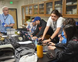 San Joaquin Delta College students participated in the fourth annual H2O Hackathon on March 16.