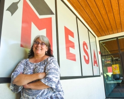 Cassandra Hernandez was recently inducted into the San Joaquin County Mexican American Hall of Fame. Hernandez helps first-generation MESA students at San Joaquin Delta College.