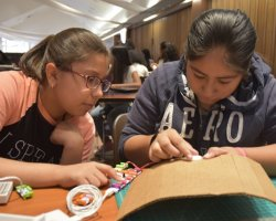 San Joaquin Delta College is hosting the Verizon Innovative Learning tech camp for middle school girls this summer.
