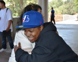 Shania Larkin was one of 50 students who finished the EOPS summer readiness program at San Joaquin Delta College.