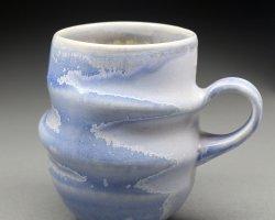 German Purple Cocoon Mug by Mary German