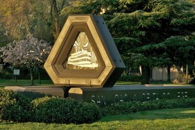 The Pacific Avenue entrance to Delta College