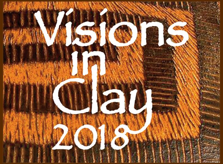 Visions in clay logo
