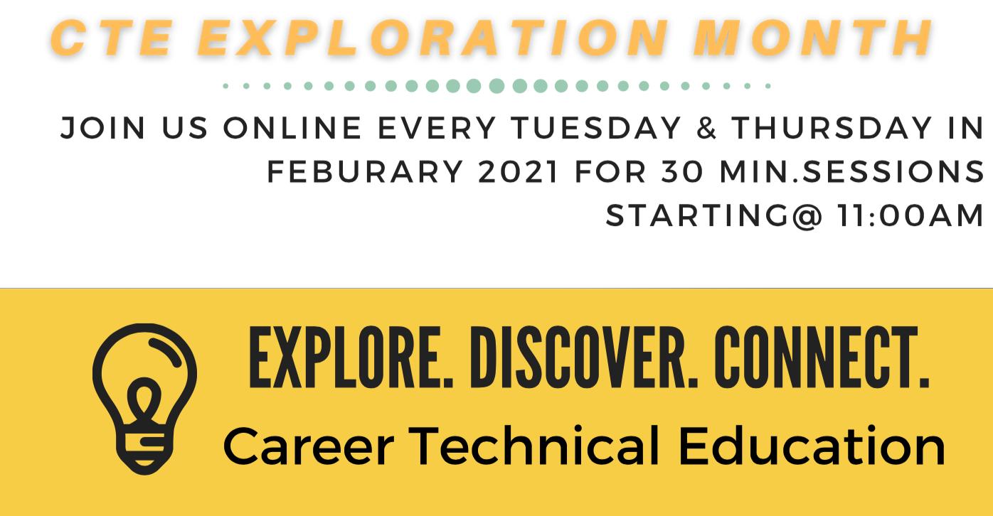 CTE Exploration Month Header Image