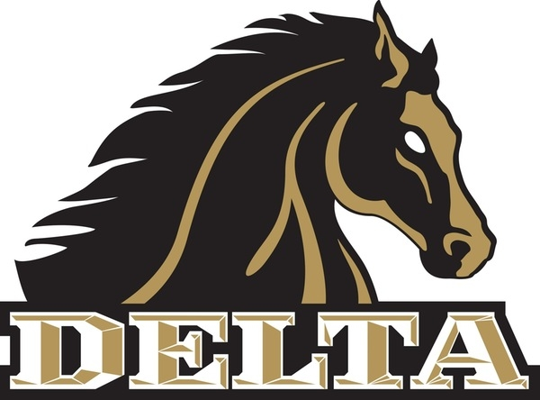 delta athletics logo