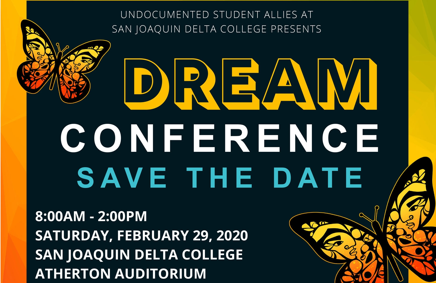 Save the Date for the Dream Conference
