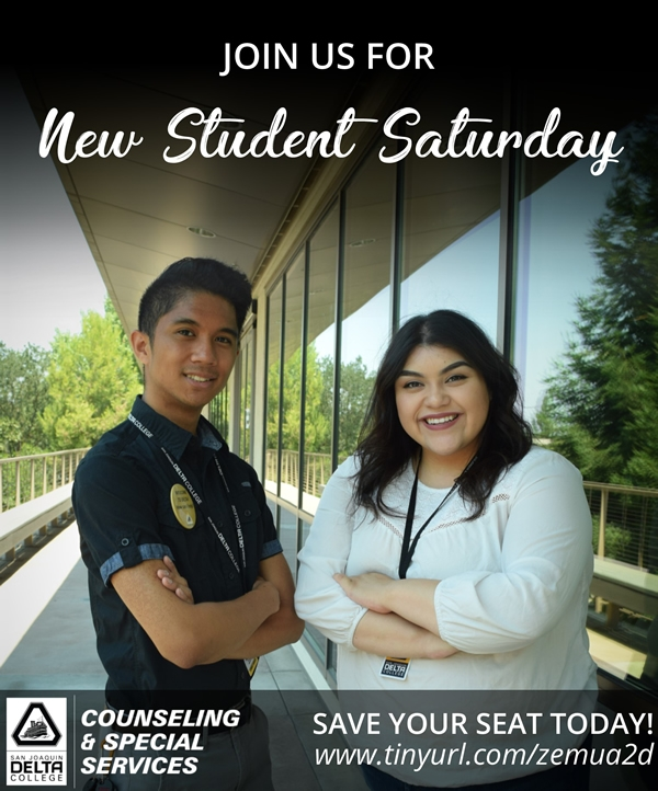 Join us for New Student Saturdays