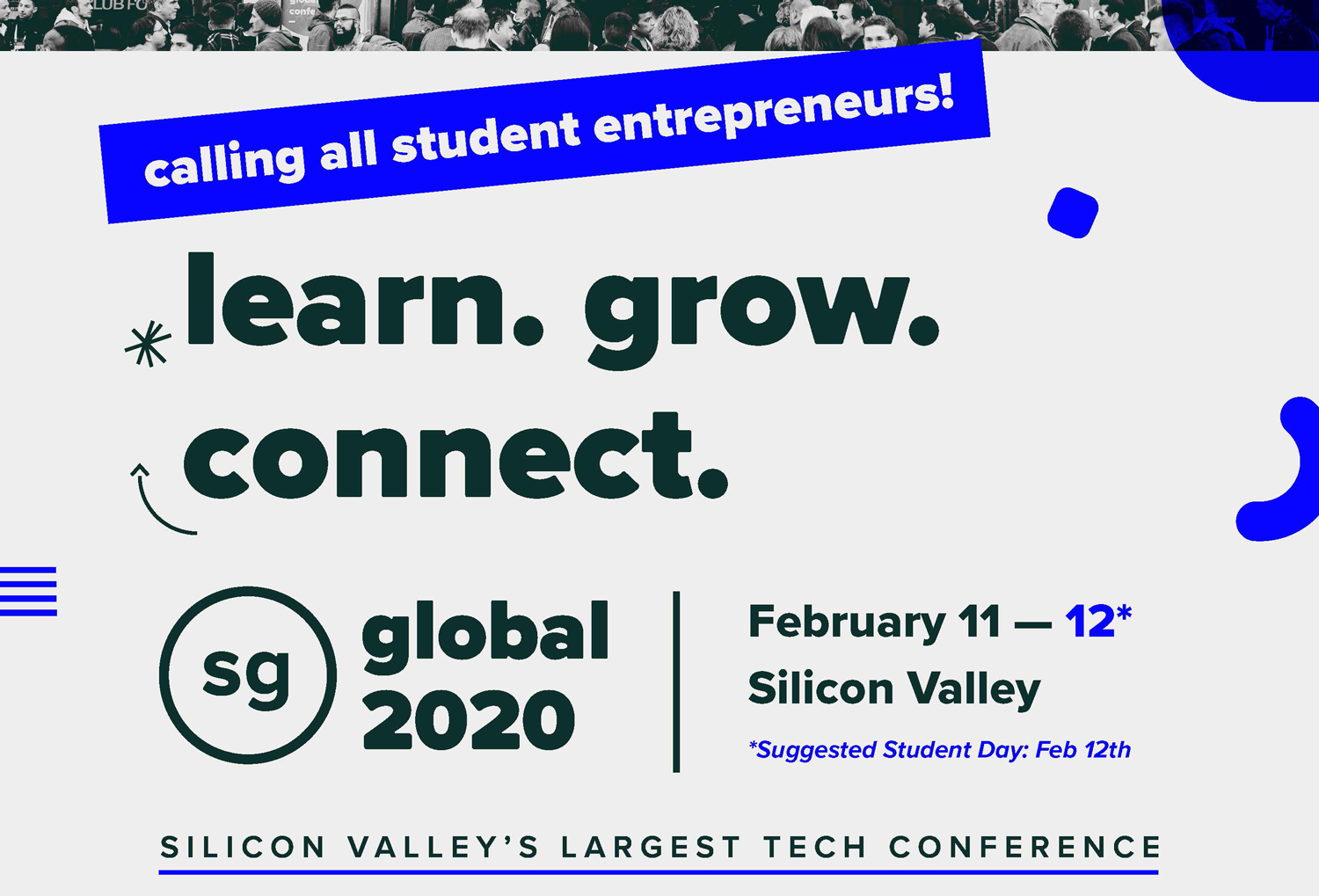 Calling all student entrepreneurs! Learn, grow, connect!
