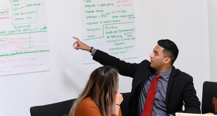 Delta College student Rajan Nathaniel, 19, was the lone community college student chosen by Asian Americans Advancing Justice for a recent advocacy trip to Washington, D.C.  Photo courtesy Herman Farrer