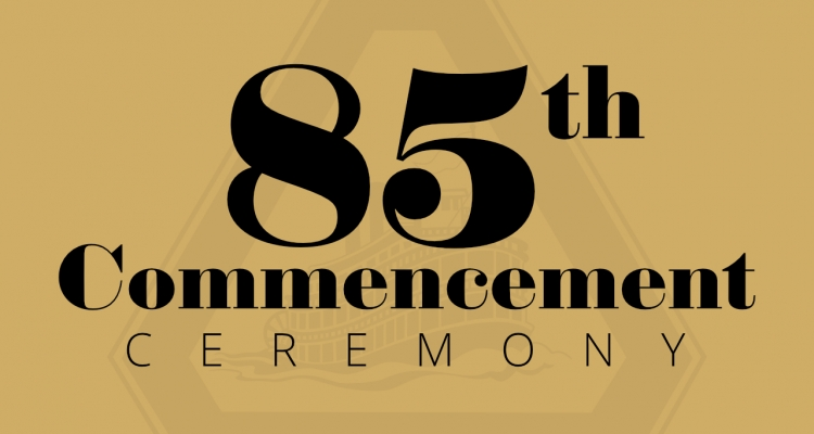 85th annual Commencement ceremony