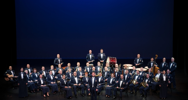 The U.S. Air Force Band of the Golden West will perform at Delta College on Nov. 4.
