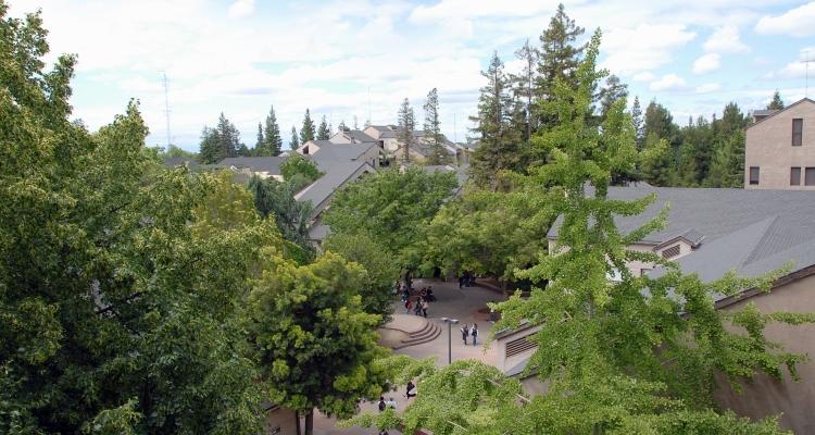 Delta College skyline