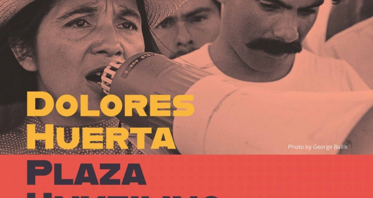 Delta College will dedicate the newly renamed Dolores Huerta Plaza at a ceremony on Thursday, Sept. 19.