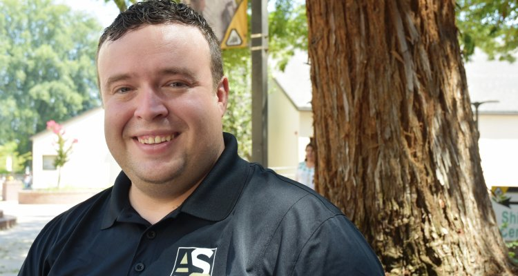 Jarrod Vargas is the new president of the Associated Students of Delta College.