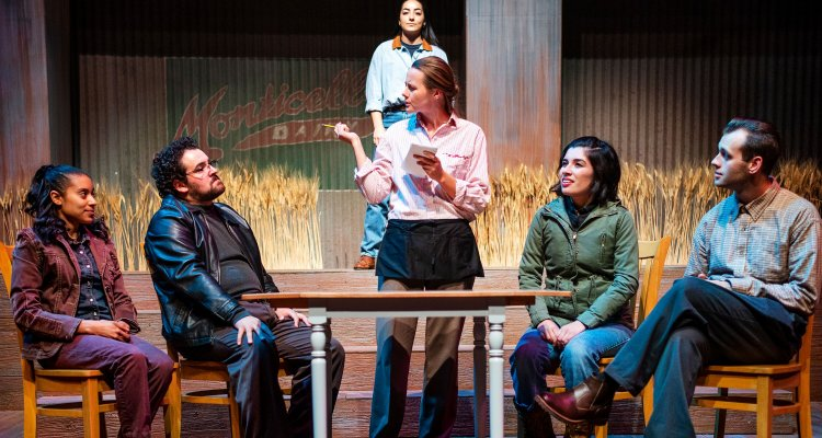 """""""The Laramie Project,"""" a 2018 production by San Joaquin Delta College drama students."""