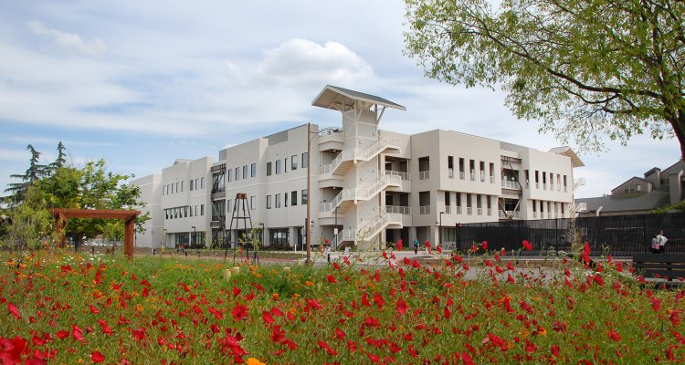 Delta's Science and Math Building is one of many projects funded by the voter-approved Measure L bond.