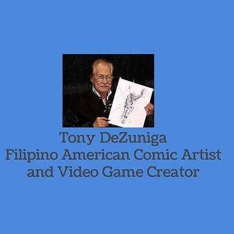 Tony DeZuniga - Filipino Comic Artist