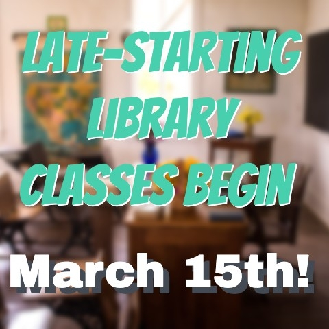 Spring 2021 Late Starting Classes