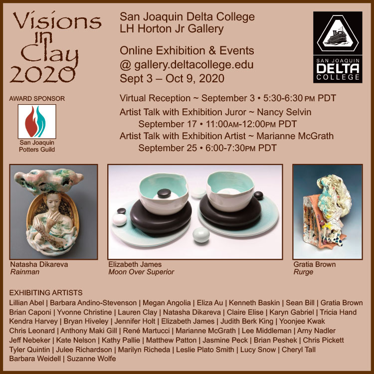 Visions in Clay Postcard